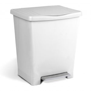 Cubo pedal milenium Tatay blanco
