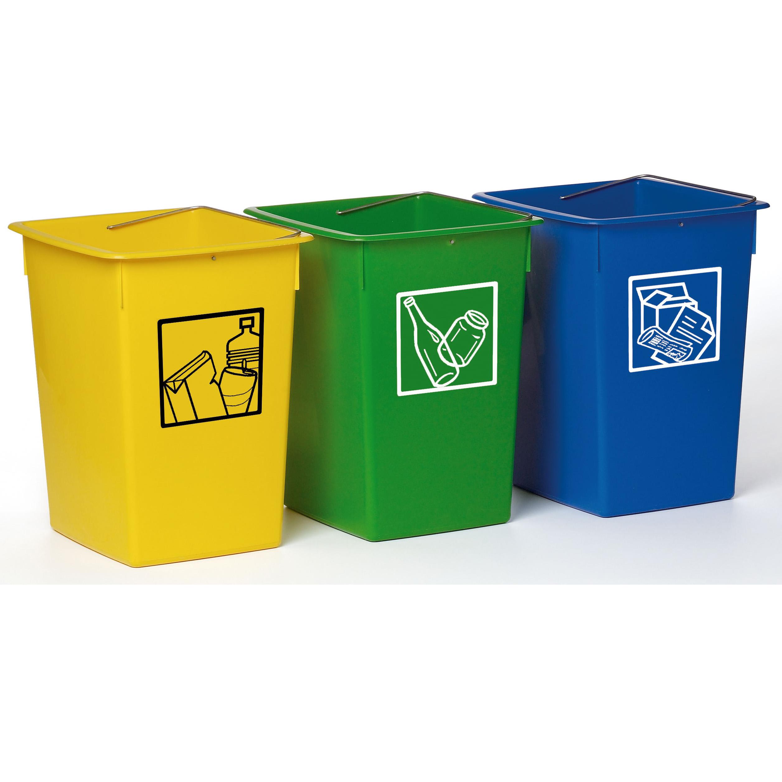 Cubo de reciclaje fervik 26 lts mas masi la tienda for Cubos de reciclaje ikea